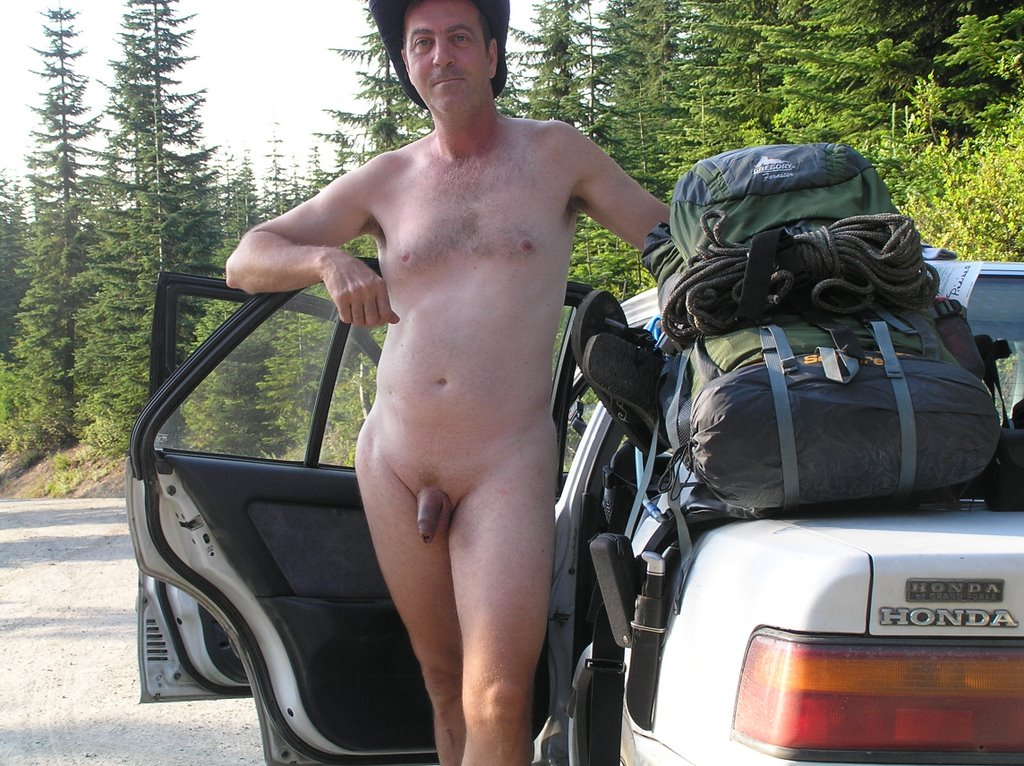 Naked nudist nude camping