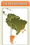 Ubicación de la Patagonia Argentina
