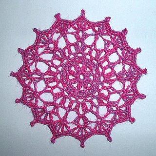 Small Linen Doily