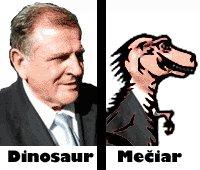 Vladimir Meciar the Dinosaur