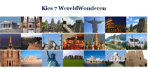 Webkwestie De 7 Wereldwonderen