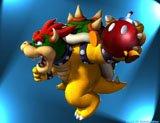 Bowser is ook een van de bekende figuren van Nintendo