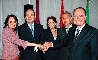 Alcalde de Málaga antes de ser chaveisado