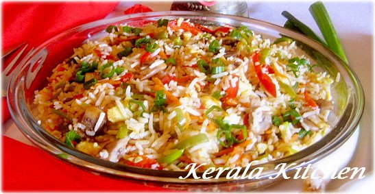 Kerala kitchen fried rice straight from the wok kerala kitchen fried rice straight from the wok ccuart Choice Image