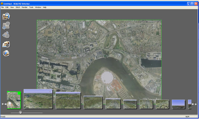how to create dem from google earth