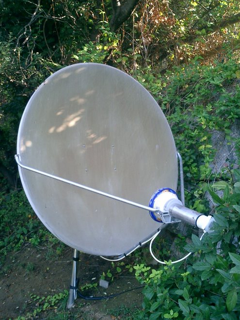120 cm offset dish (Norcom)