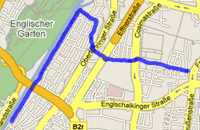 Map of 15/09/06 Run