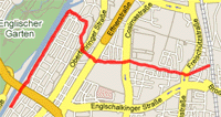 Map of 21/09/06 run