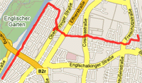 Map of 26/09/06 run