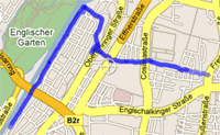 Map of 28/09/06 run