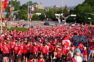 HBC Run for Canada 2006