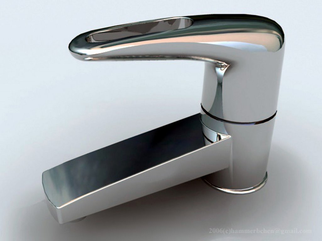 Sink Tap Modell : Ds max modeling free video tutorial making of modern tap