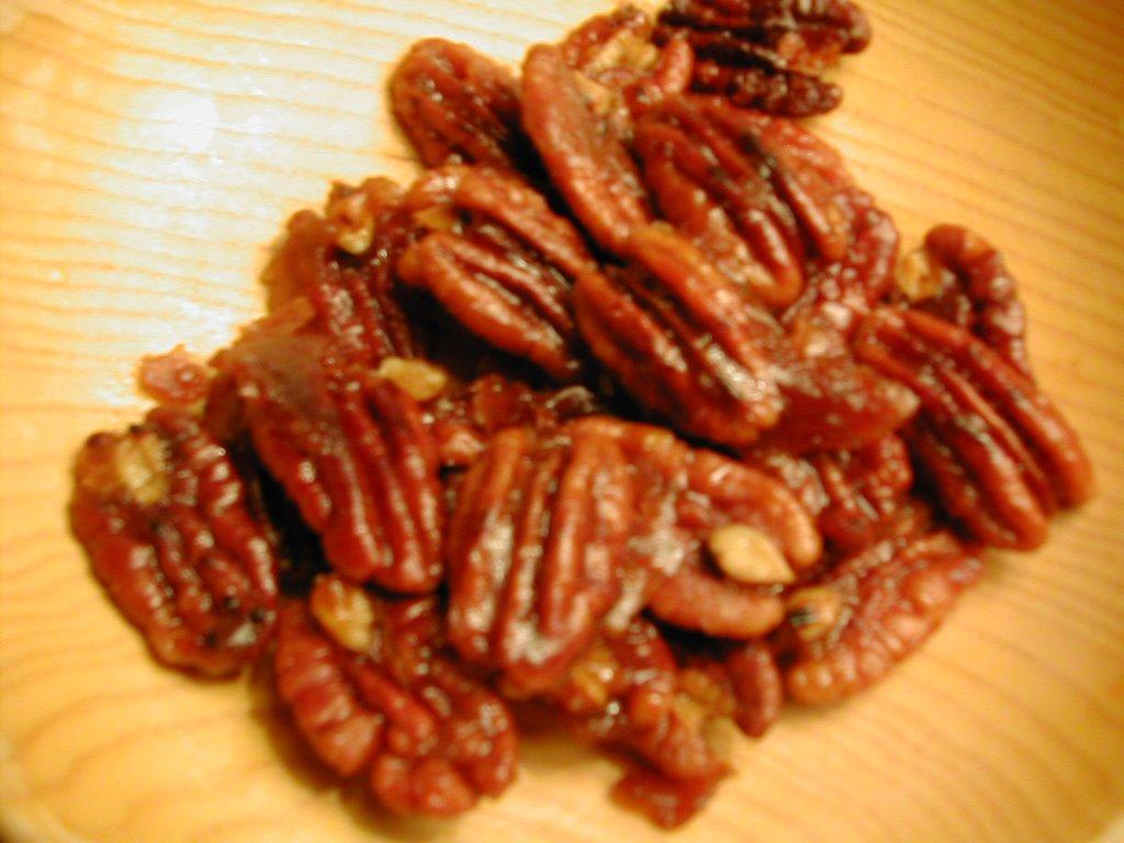Damn Delicious: Bourbon Sugared Pecans