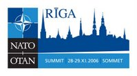 The official logo for Riga Summit of NATO Heads of State and Government