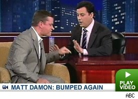 Matt Damon Completely Losing It