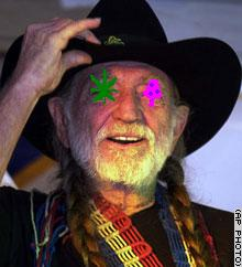 Willie Nelson Busted for Marijuana and Shrooms