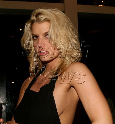 Jessica Simpson Runs Back to the Jackass Crew