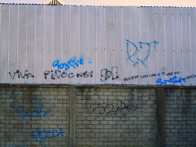Algunas Expresiones del Graffiti en Temuko