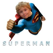 The real Superman - min søn