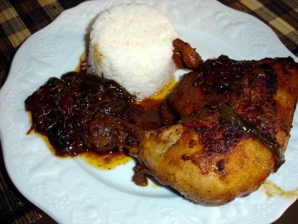 Plage ou cuisine cuisses de poulet au satay - Cuisse de poulet a la poele ...