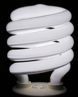 An evil low energy bulb intent on world domination
