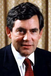 Gordon Brown as he appeared the day The Chance was murdered