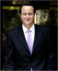 Mr Cameron in mourning for The Speech