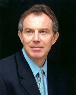Prime Minister Blair attending the G8 summit prior to the Grip's assassination