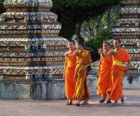 Genc rahipler - Wat Pho - Bangkok