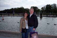 Mom and Dad in Paris