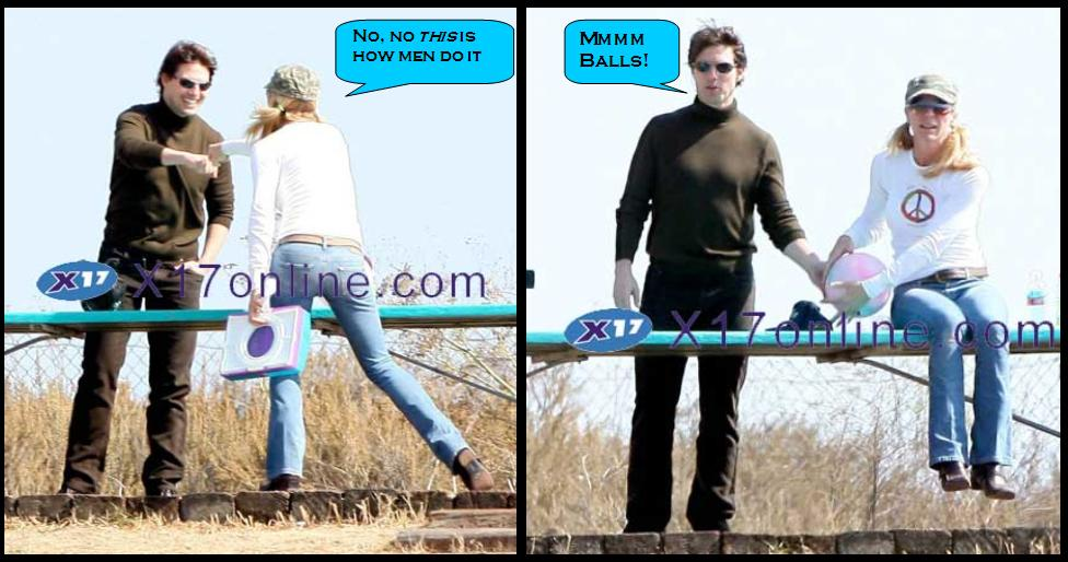 Tom Cruise And Katie Share Clothes