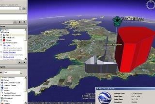 Google Earth 4 Point Line Polygon