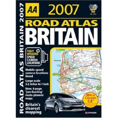 AA Great Road Atlas 2007 Winner