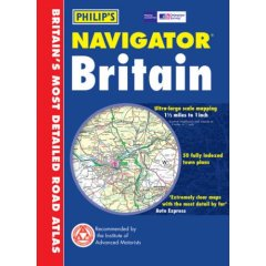 Philips Navigator Road Atlas