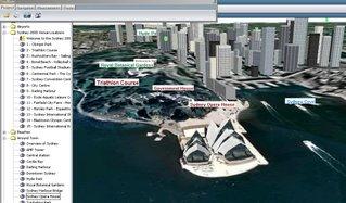 Skyline Globe 3D - Sydney Opera House
