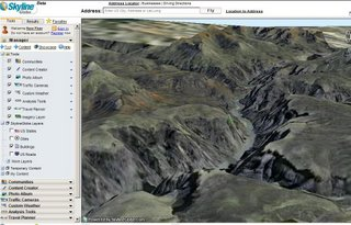 Skyline Globe 3D - Grand Canyon