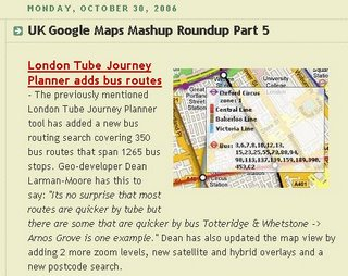 Google Maps Mania UK Roundup 5