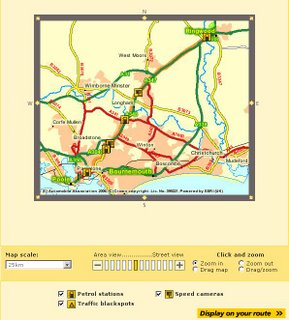 AA Travel Planner- Speed Cameras