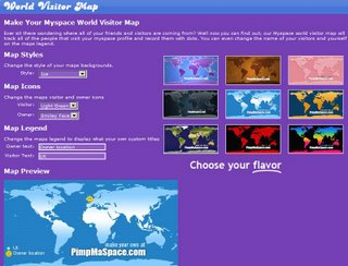 MySpace Maps