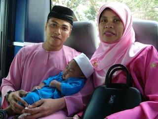 Wifey & Me With Daniel In The Coach on Raya 2005