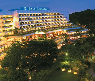 Rasa Sentosa Resort Night View