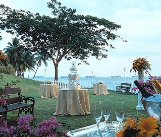 Rasa Sentosa Outdoor Wedding Reception