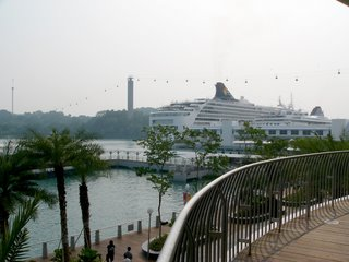 VivoCity Overlooking The Cruise Harbour