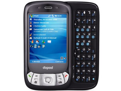 DOPOD C800 PDA Phone Launching Mid-November