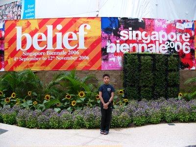 Danish @ Marina Square Singapore Biennale 2006 Poster