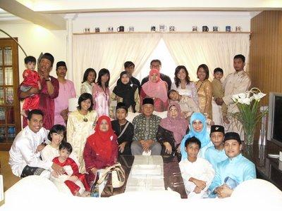 Hari Raya 2006 Family Visit at Home