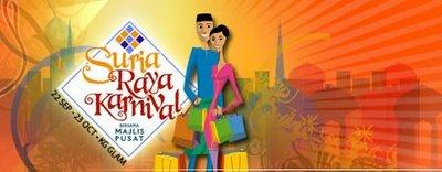Suria Raya Karnival Poster