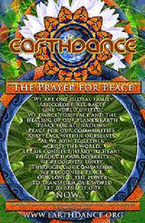 Poster de la Oracion de la Danza de la Tierra