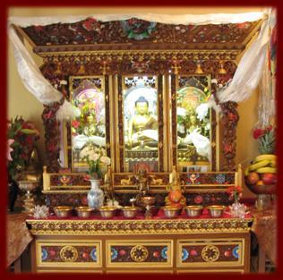 Digital Tibetan Buddhist Altar 8 1 06 9 1 06