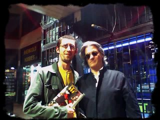 Roberto Pettinato y yo